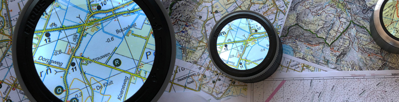 Map magnifier